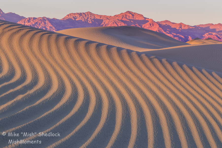 Spring Comes To Dunes >> Death Valley Mesquite Flat Sand Dunes Sunset Mishmoments