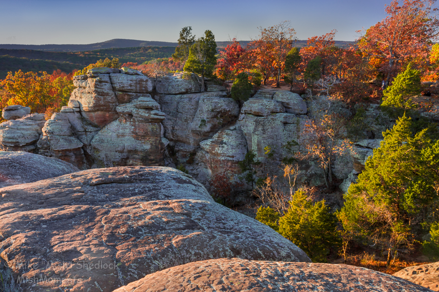 Garden of the Gods Shawnee National Forest, Illinois