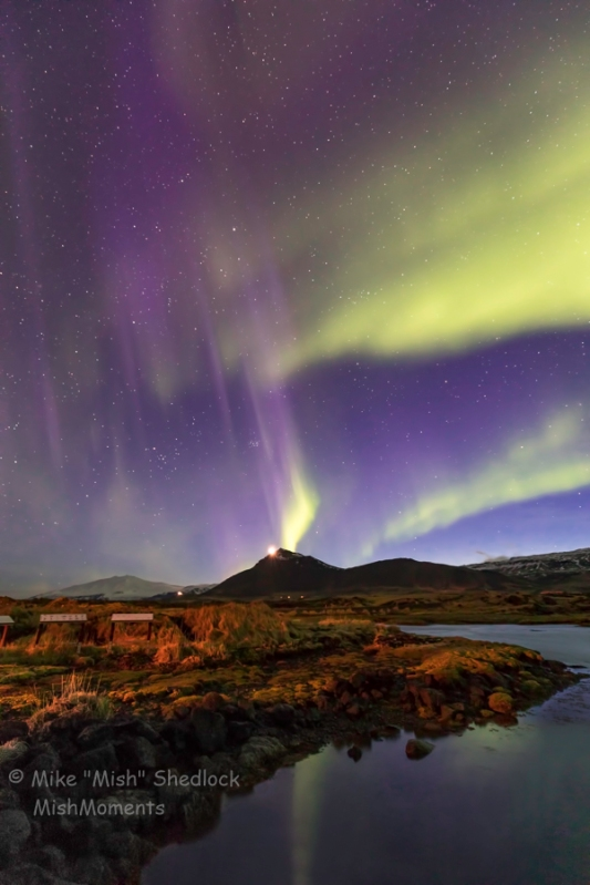 Northern Lights March Iceland